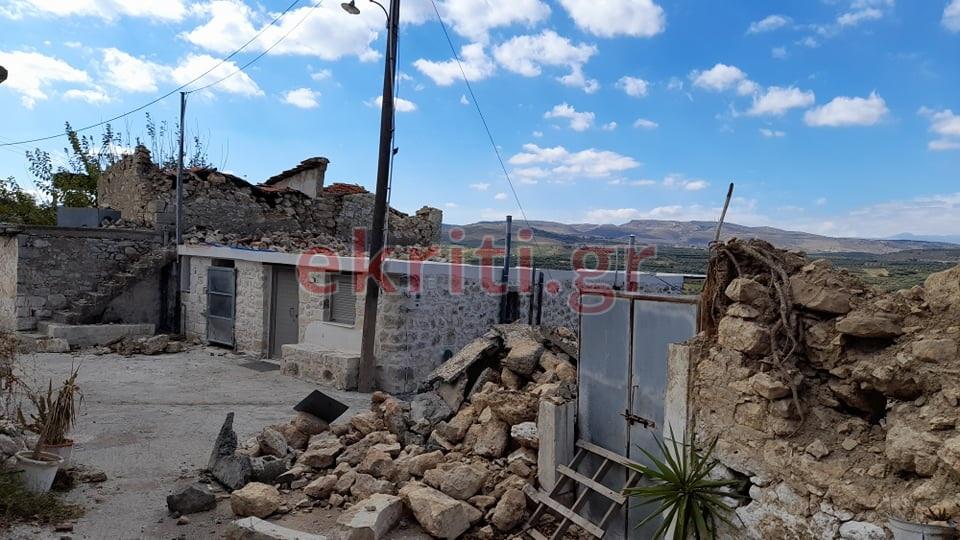 Ο σεισμός ισοπέδωσε το χωριό!
