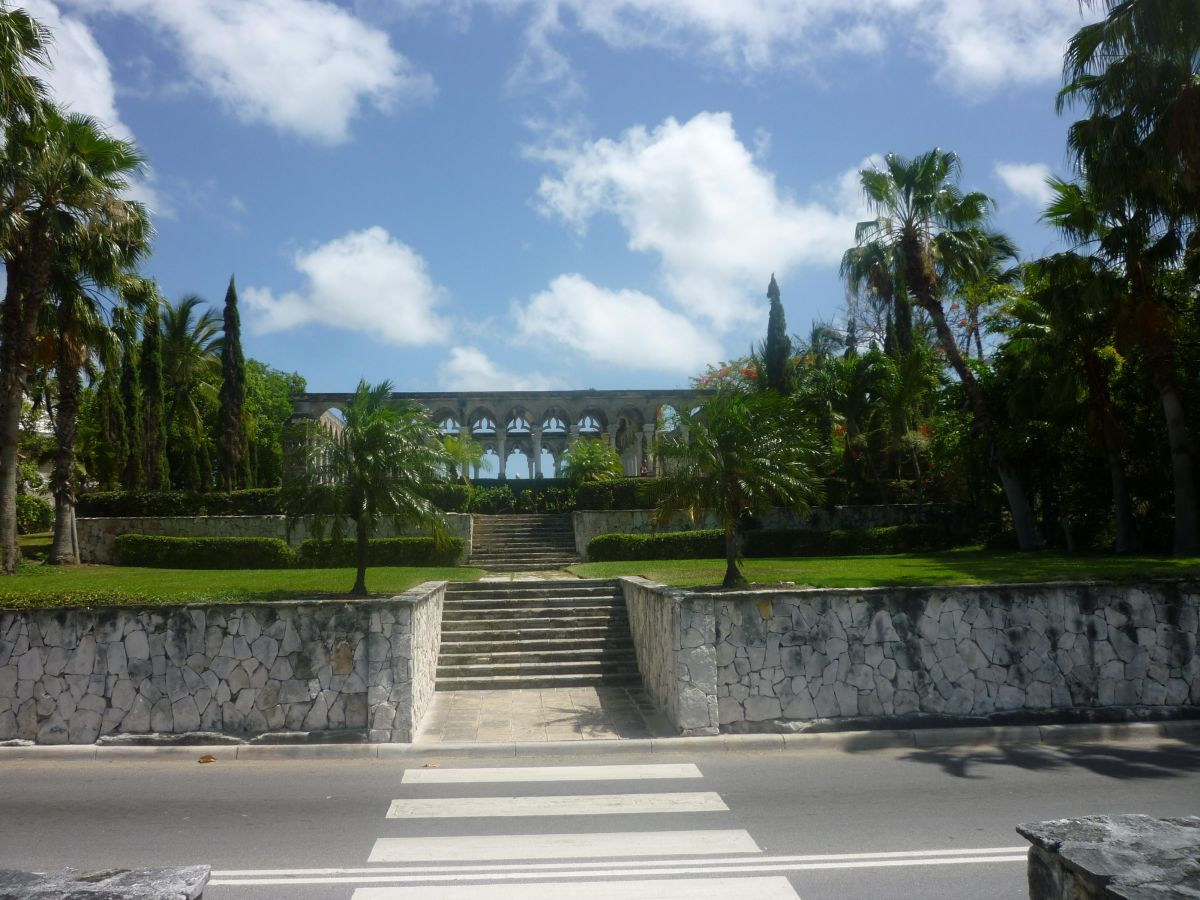 Απεικονίζεται ένα σημείο στις Μπαχάμες