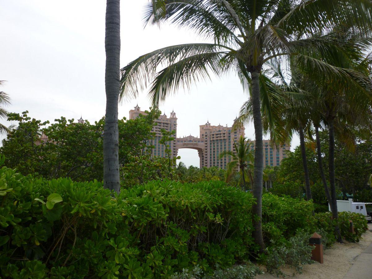 Απεικονίζεται το κέντρο στις Μπαχάμες downtown