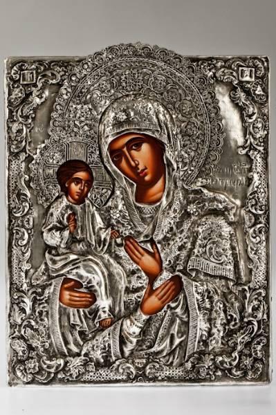 Η εικόνα της Παναγίας της Τριχερούσας