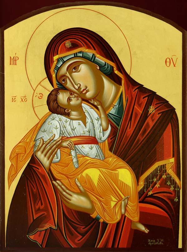 Η εικόνα της Παναγίας της Γλυκοφιλούσας