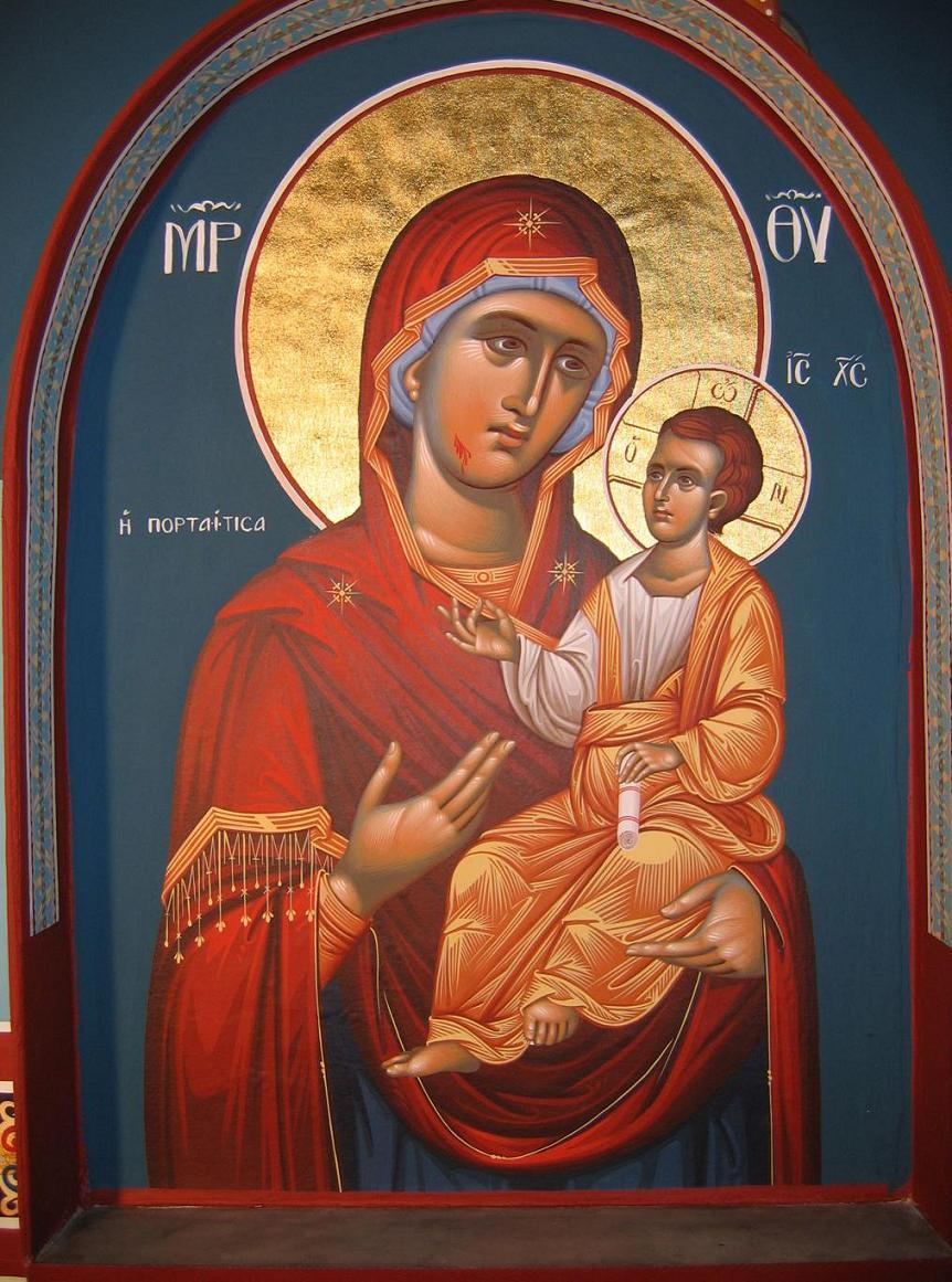 Η εικόνα της Παναγίας της Πορταϊτισσας
