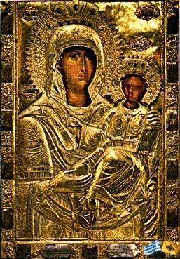 Η εικόνα της Παναγίας της Μυροβλύτισσας