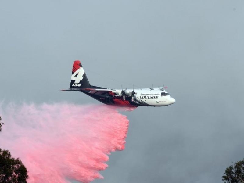 Το πυροσβεστικό αεροσκάφος