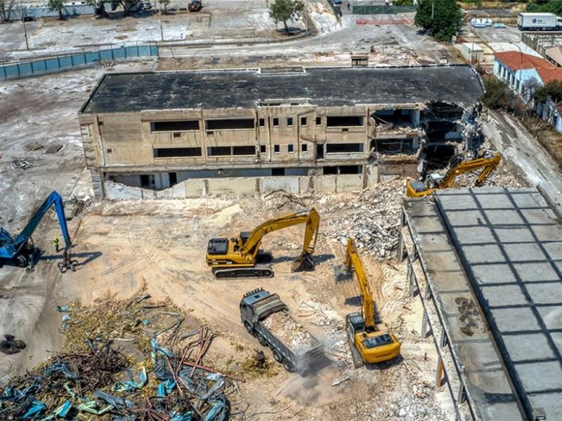 ελληνικο επενδυση, κατεδαφιση