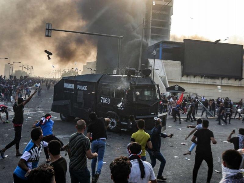 Ιράκ διαδηλώσεις