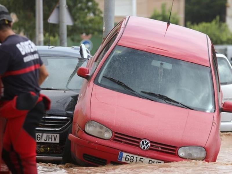 Ισπανία πλημμυρες