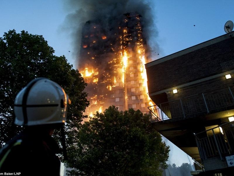 φωτιά λονδίνο