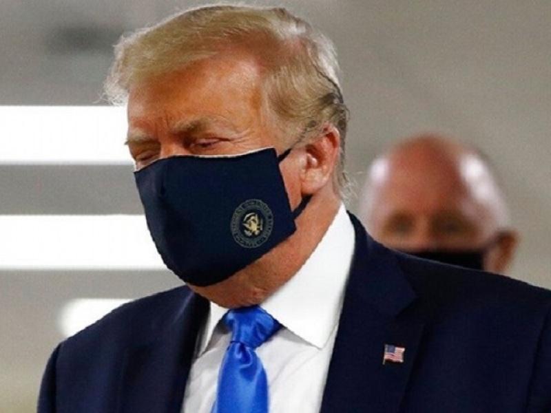 Μάσκα - Τραμπ