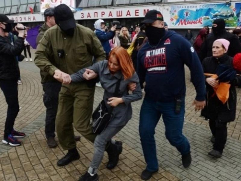 Μινσκ, διαδήλωση