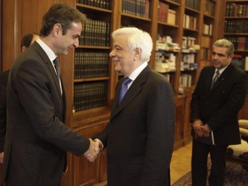 Μητσοτακης Παυλοπουλος