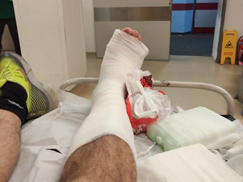 τραυματισμός - πόδι