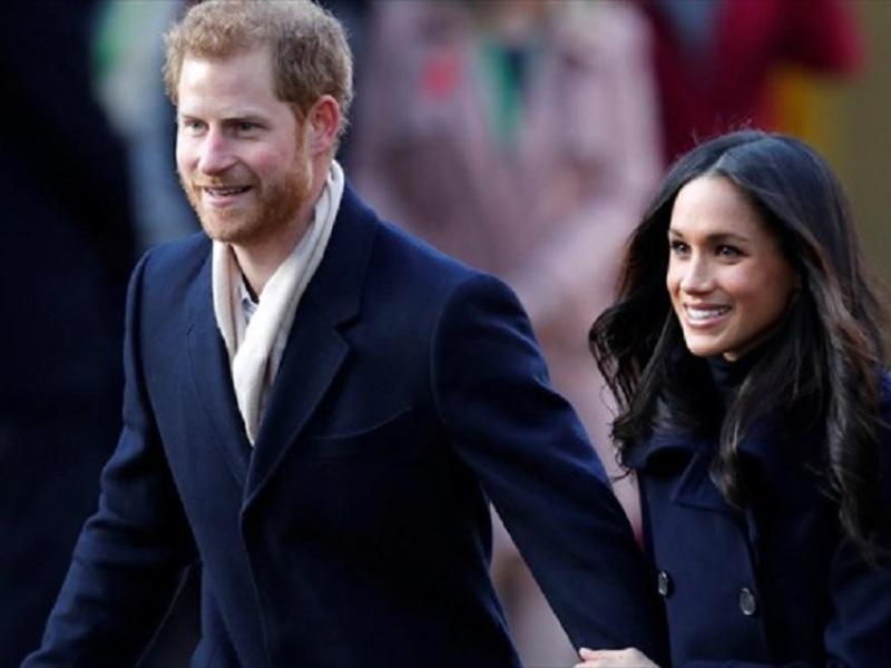Ο πρίγκιπας Χάρι και η συζύγός του Μέγκαν