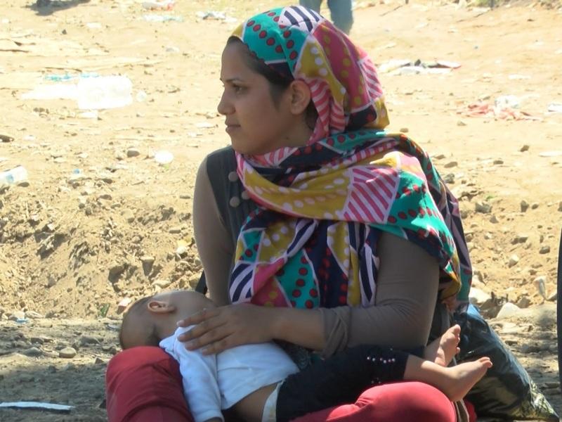 προσφυγες ειδομενη