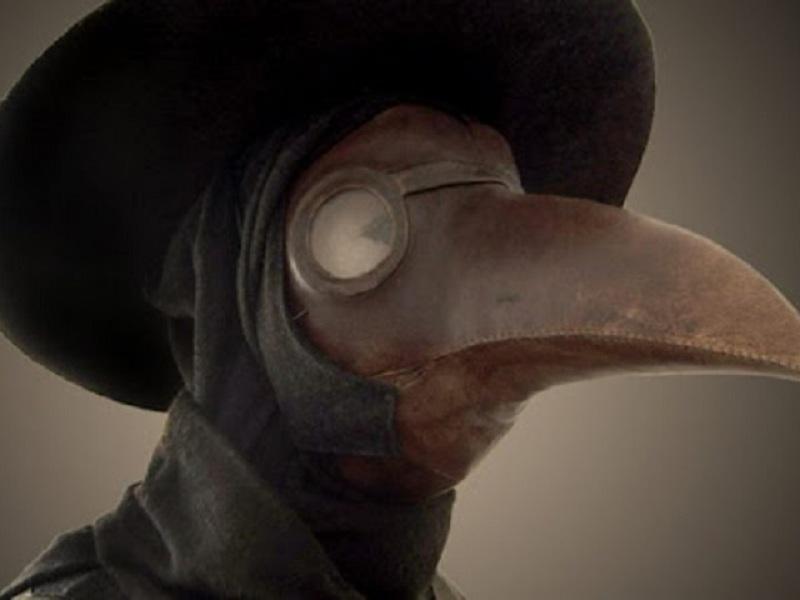 μάσκα πανούκλα