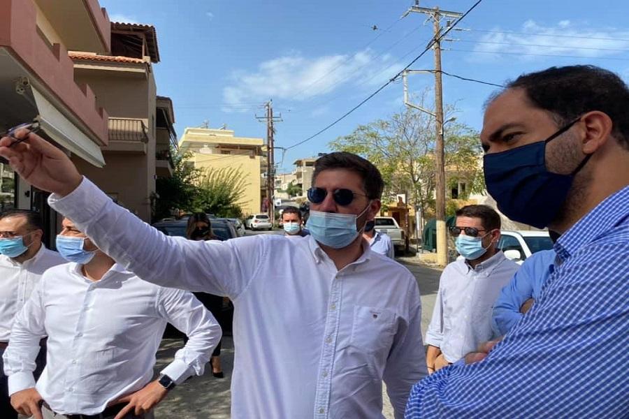 Από την επίσκεψη στο Μαλεβίζι του κ.Κεφαλογιάννη