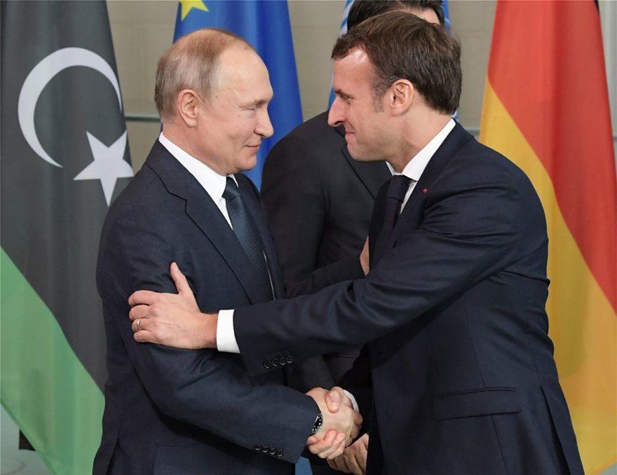 Πούτιν και Μακρόν