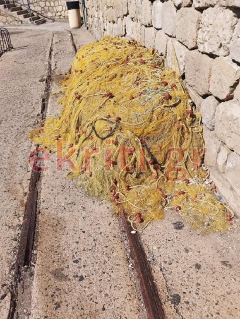 Λιμάνι Ηρακλείου-Ψαράδικα Δίχτυα