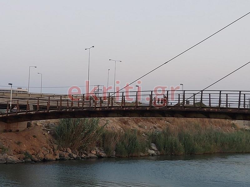Γέφυρα - κίνδυνος για τους περιπατητές