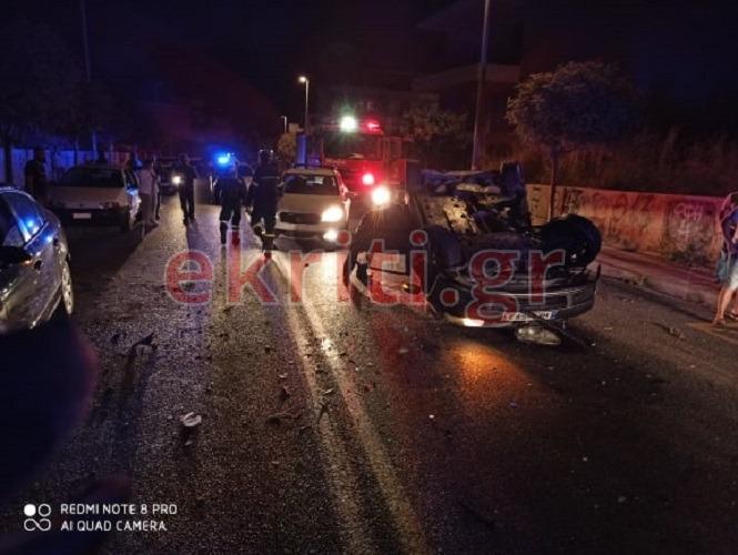 Παρ' ολίγον τραγωδία τη νύχτα στο Ηράκλειο