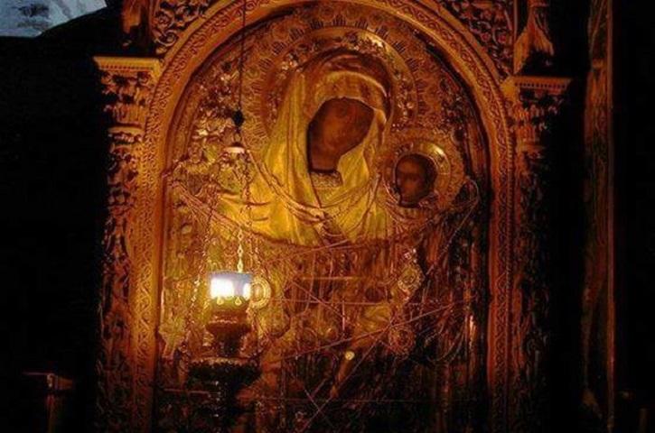 Εικόνα της Παναγίας της  Γοργοεπηκόου - Ι.Μ Δοχειαρίου Αγίου Όρους