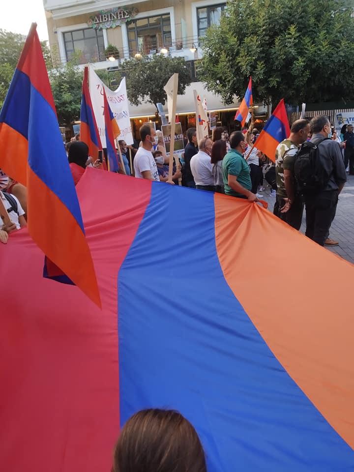 Οι Αρμένιοι που ζουν στην Ελλάδα ζητούν  την καταδίκη της παράνομης και απροκάλυπτης επιθετικότητας του Τουρκο-Αζερικού άξονα.