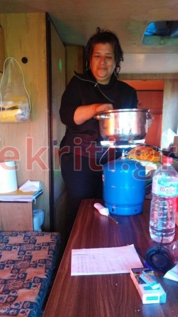 Η Όλγα σήμερα έρξιξε στο τηγάνι φρέσκα ψάρια