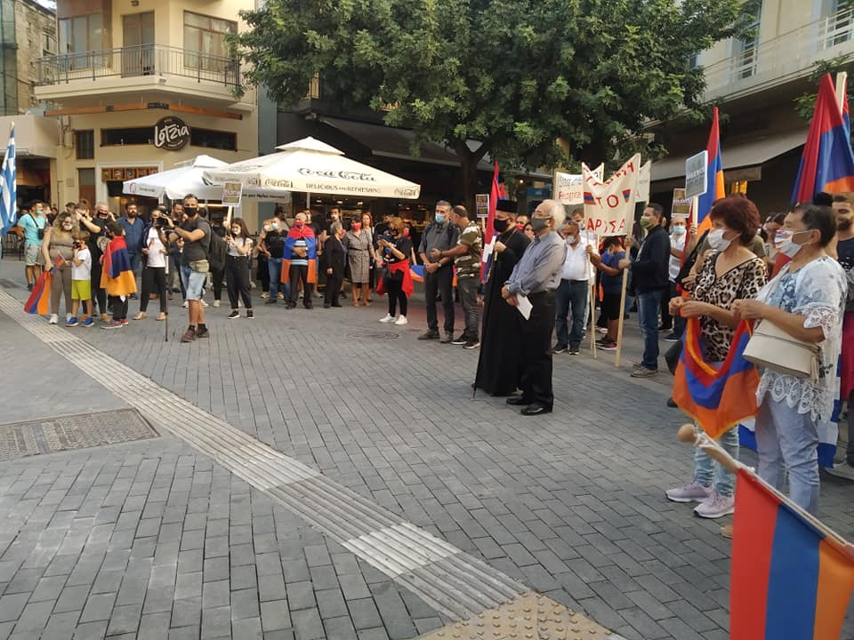 Η διεθνής κοινότητα δεν πρέπει πλέον να επιδείξει καμία ανοχή στους αυτουργούς του εγκλήματος που συντελείται ενάντια στην Αρμενία και το Ναγκόρνο Καραμπάχ.