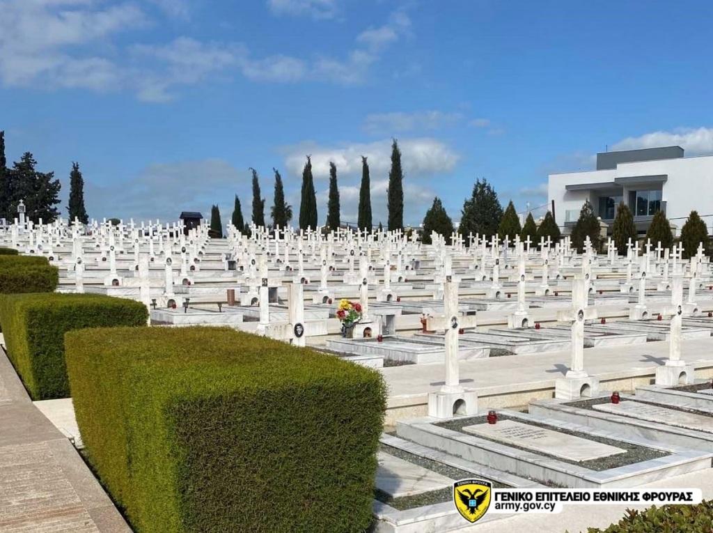 Οι τάφοι των μεσόντων, στον Τύμβο της Μακεδονίτισσας.