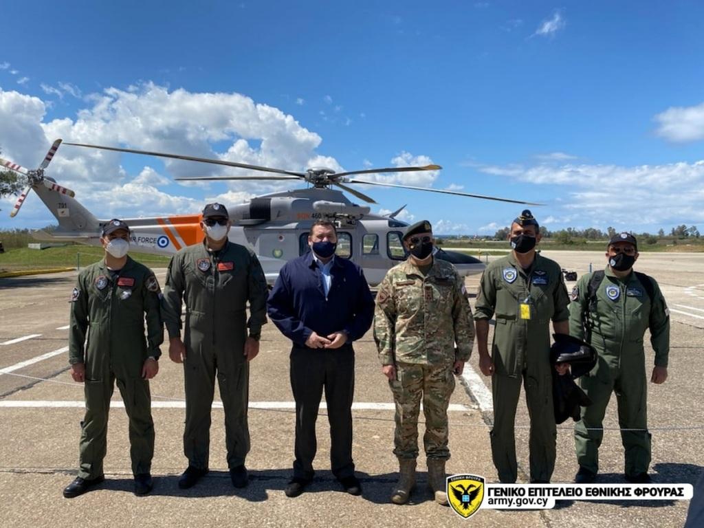 Το προσωπικό της Διοίκησης Αεροπορίας της Εθνικής Φρουράς, συμμετέχει στη σχεδίαση των σεναρίων που προβλέπονταν σε συνεργασία με τα αντίστοιχα κλιμάκια των υπόλοιπων χωρών.