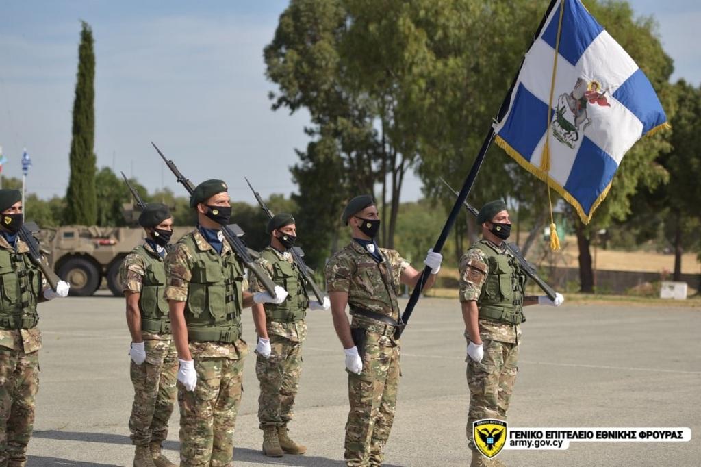 Πραγματοποιήθηκε σήμερα στο Στρατόπεδο «ΜΑΚΗ ΓΕΩΡΓΑΛΛΑ» στον Μαθιάτη, ο επίσημος εορτασμός του Μεγαλομάρτυρα Αγίου Γεωργίου, Προστάτη του Στρατού Ξηράς.