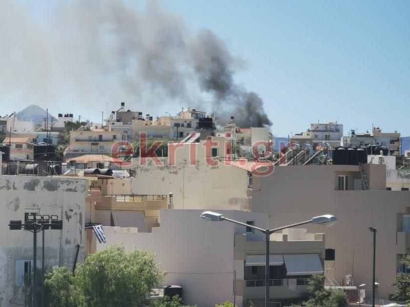 Πυρκαγιά στον Πόρο