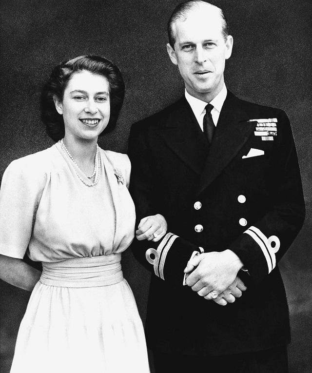 H βασίλισσα Ελισάβετ και ο πρίγκιπας Φίλιππος