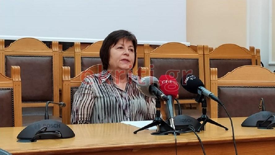 H αναπληρώτρια καθηγήτρια του Πανεπιστημίου Κρήτης Άννα Ψαρουλάκη