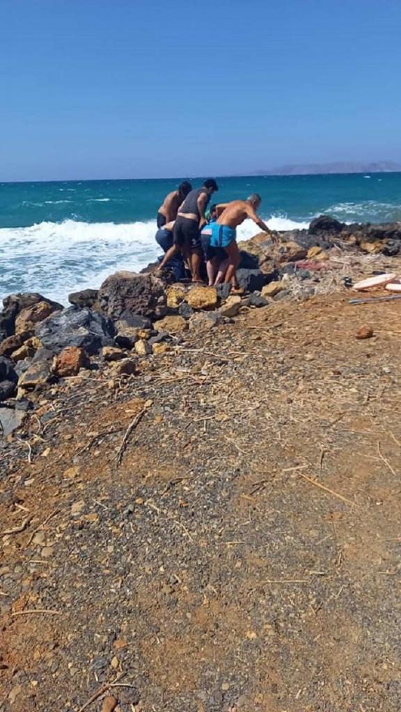 Το τραγικό περιστατικό σημειώθηκε στην παραλία των Γουρνών