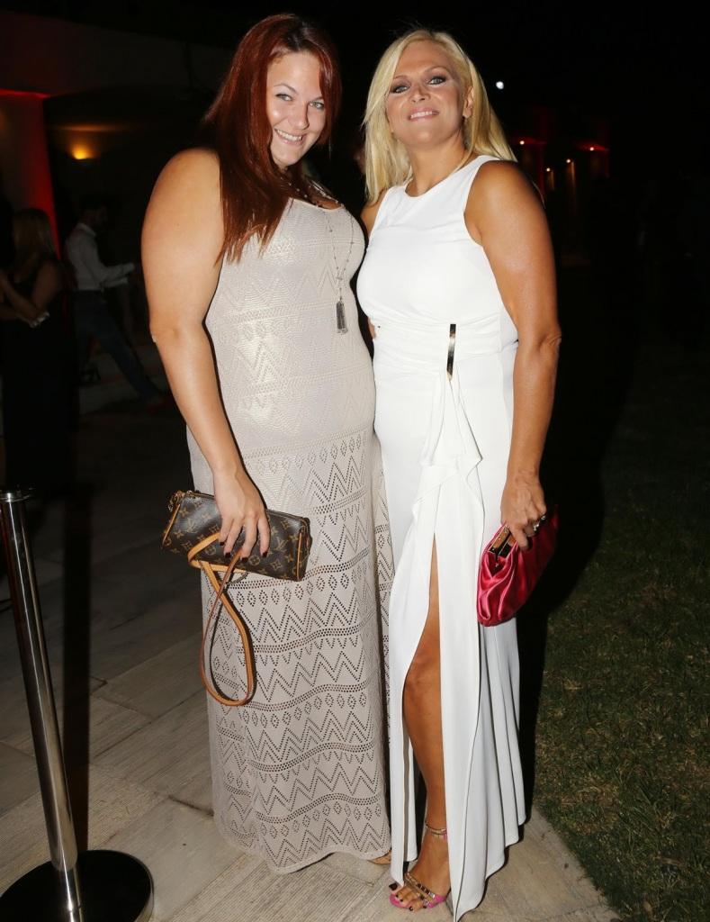 Η Λαμπίρη με την κόρη της