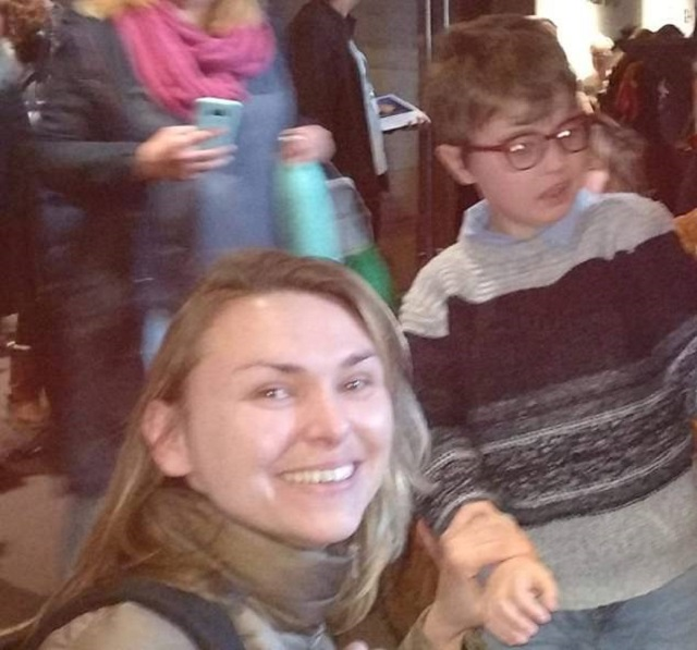 Η μητέρα με τον 10χρονο γιο της