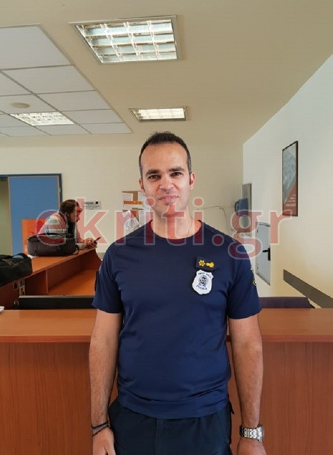 Ο πρόεδρος των Αστυνομικών Υπαλλήλων Νομού Ηρακλείου Γιώργος Πικράκης