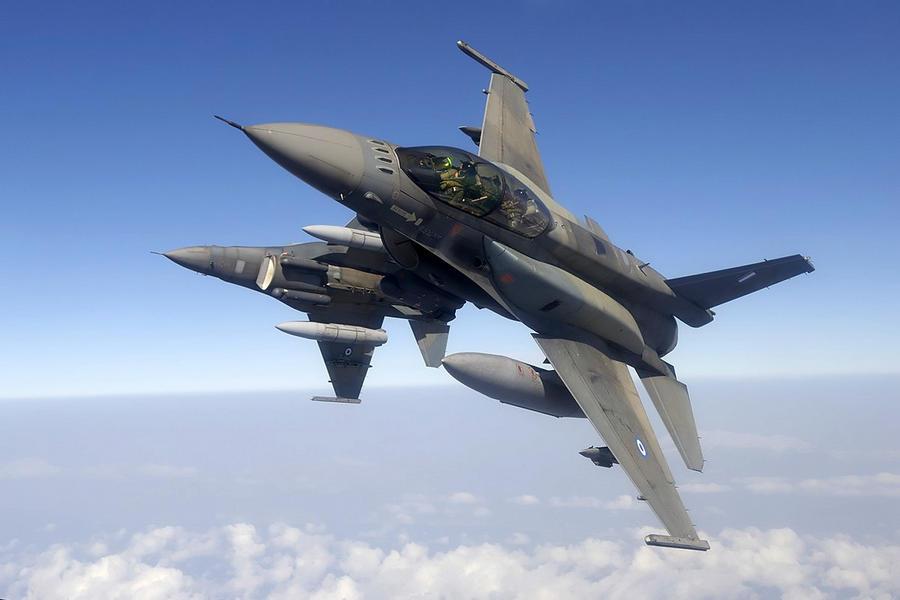 Μαχητικά αεροσκάφη F-16 της Πολεμικής Αεροπορίας