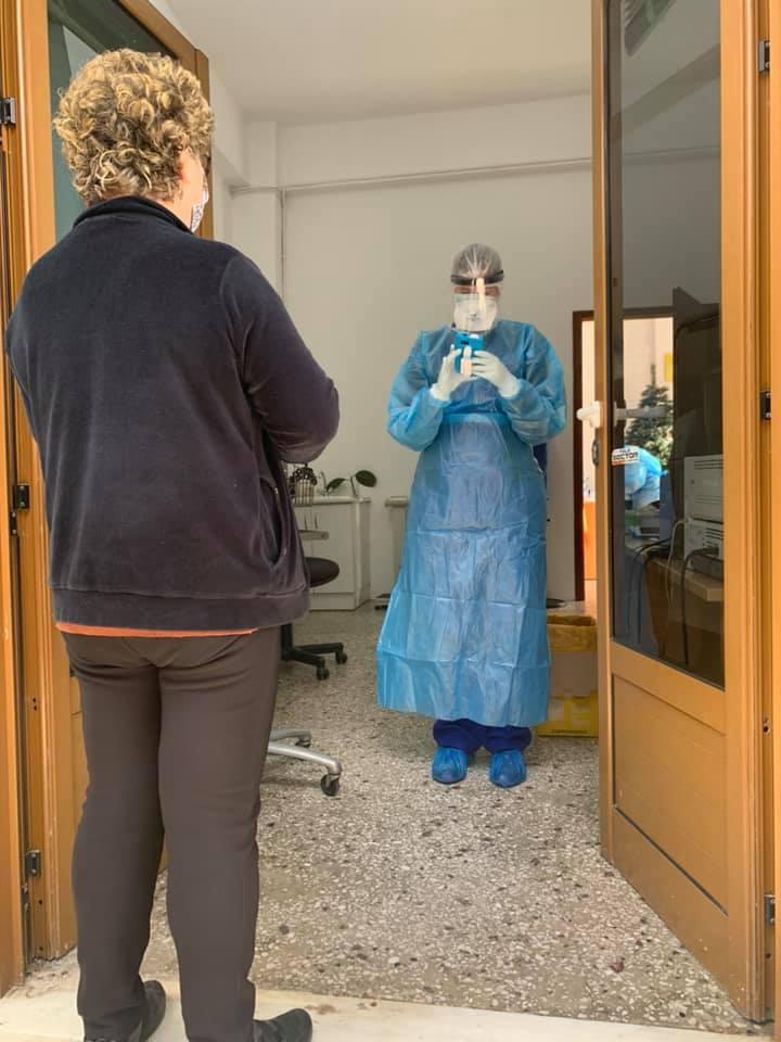 rapid test για τους κατοίκους του Κρουσώνα