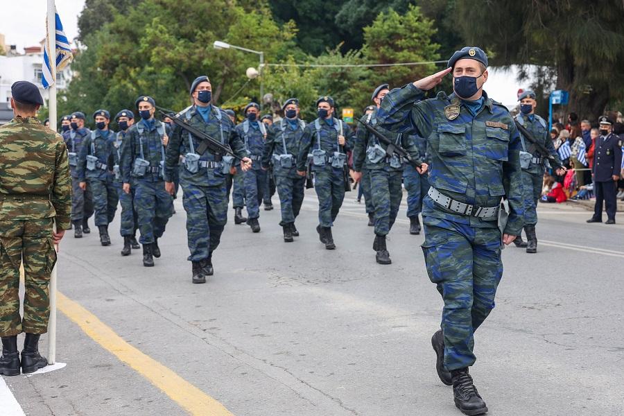 παρέλαση στο Ηράκλειο