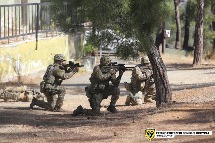 Τη δραστηριότητα παρακολούθησε ο Αρχηγός της Εθνικής Φρουράς, Αντιστράτηγος Δημόκριτος Ζερβάκης.