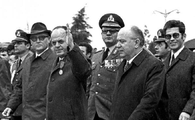 Γεώργιος Παπαδόπουλος - 1967 (copyright: Eurokinissi)