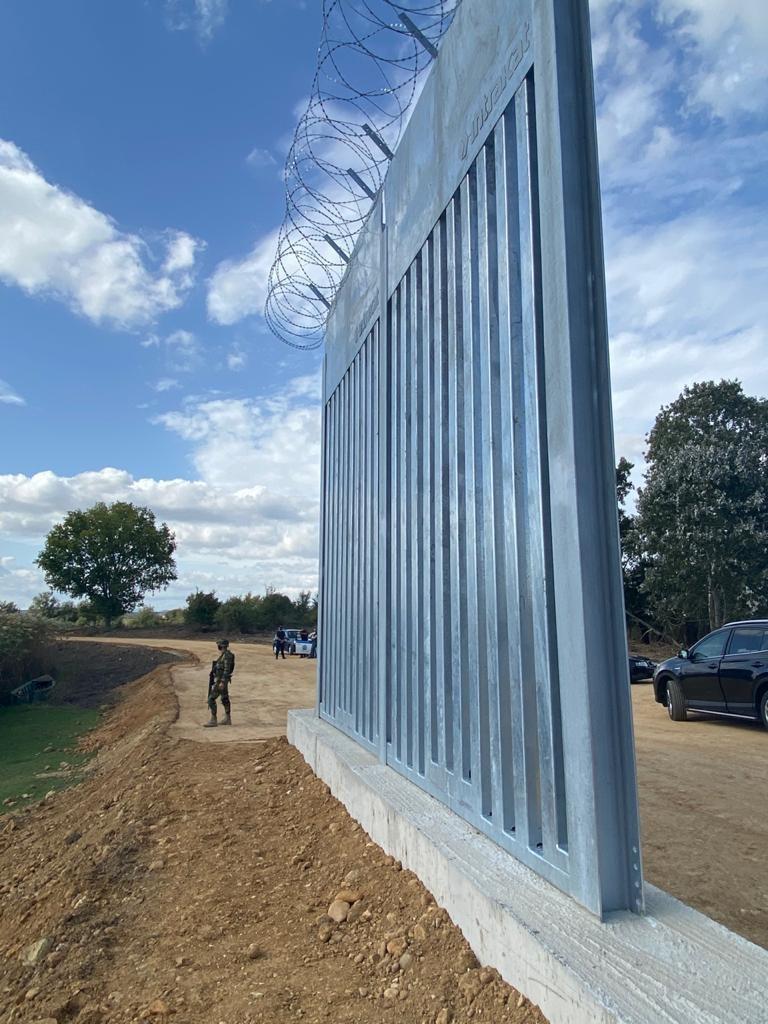 Ο νέος φράχτης στον Έβρο