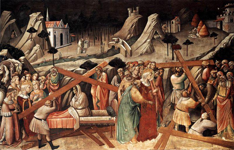 Η αναζήτηση του Τιμίου Σταυρού