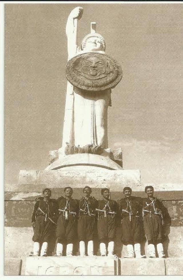 Άγαλμα της Ελευθερίας στα Χανιά