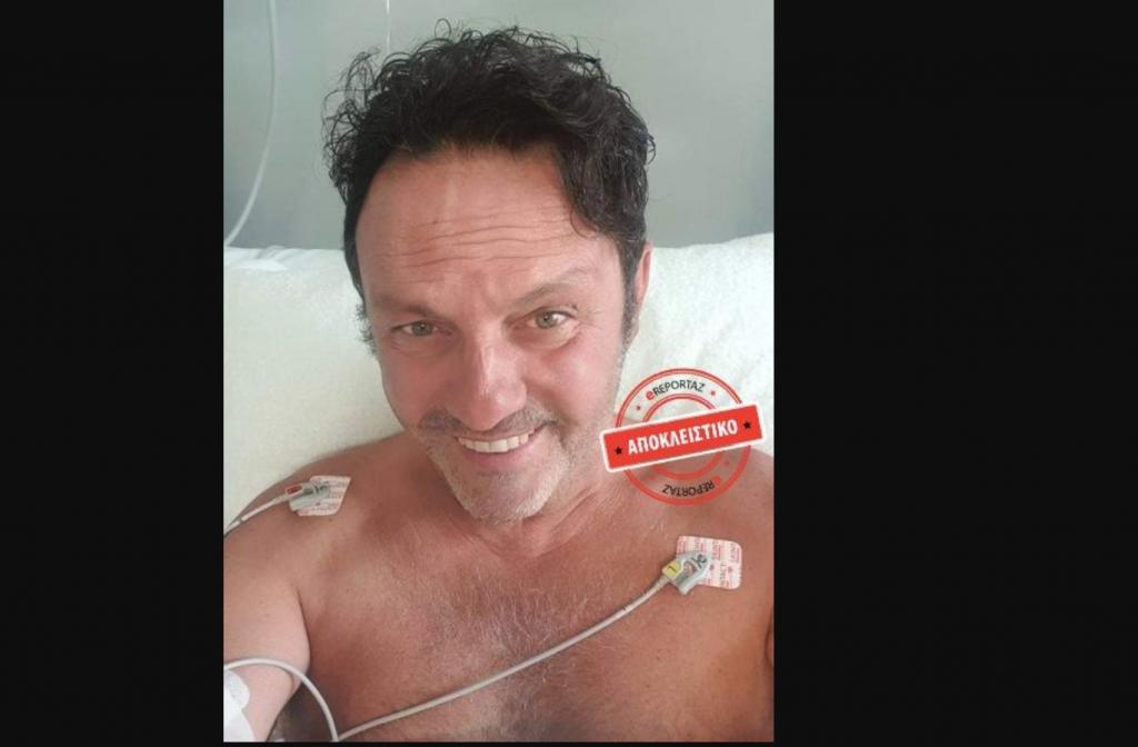 Ο Αγγελόπουλος στο νοσοκομείο