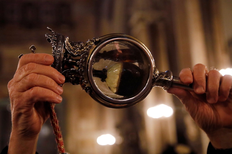 Το αίμα του προστάτη της Νάπολης, San Gennaro