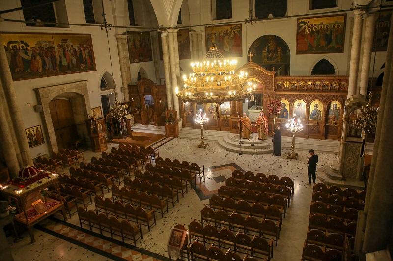 Άδειος ο Ιερός Ναός του Αγίου Τίτου