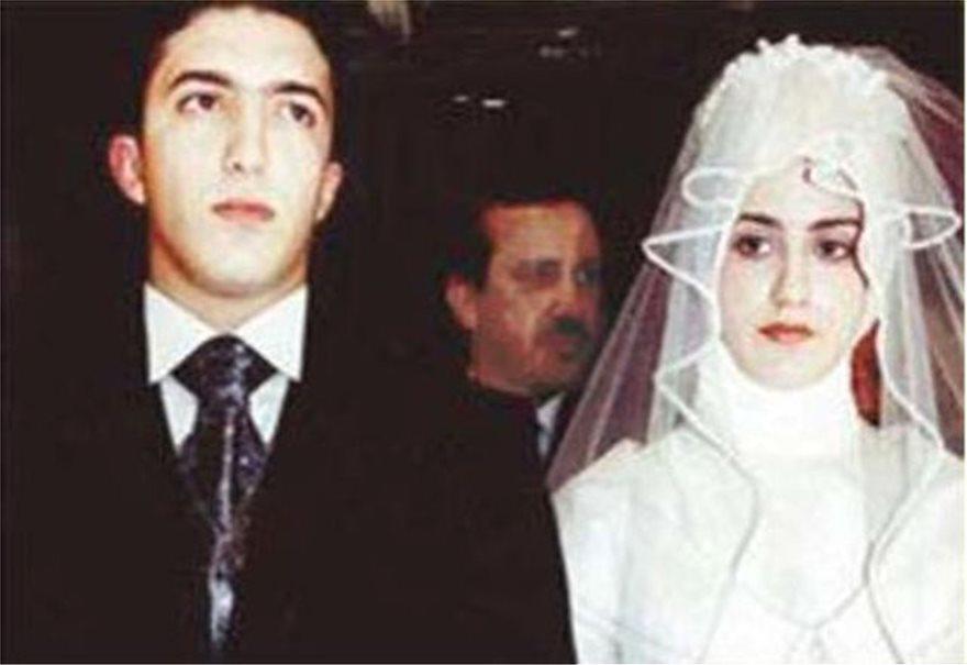 Ο Αχμετ Μπουρακ Ερντογάν σε φωτογραφία απο το γάμο του